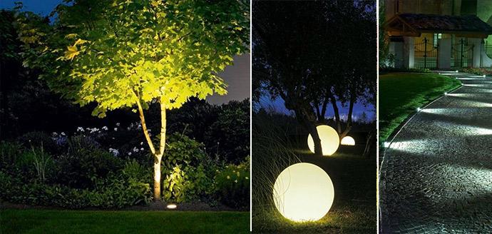 Светодиодные гирлянды уличного освещения